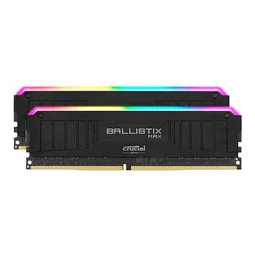 마이크론 Crucial Ballistix MAX DDR4-4400 CL19 RGB Black 패키지