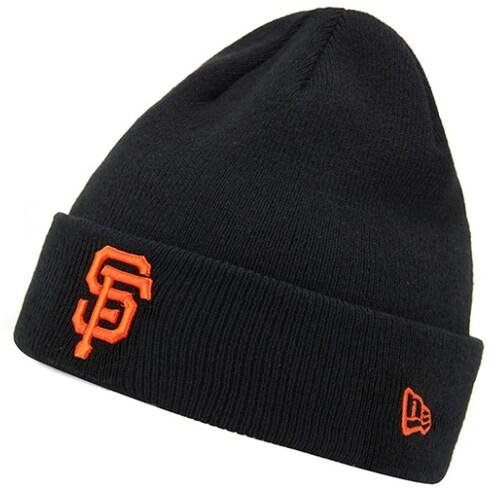 뉴에라캡코리아 뉴에라 커프 비니 MLB 샌프란시스코 자이언츠 11397006_이미지