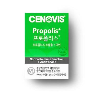 세노비스 프로폴리스+ 60캡슐(1개)