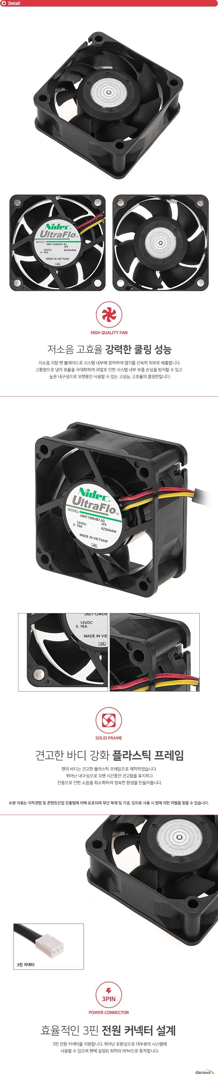 Nidec UltraFio U60T12MUB7-53