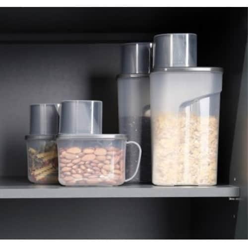 에브리데이컴퍼니 디자인룸즈 사각 곡물통 냉장고용기 3종_이미지