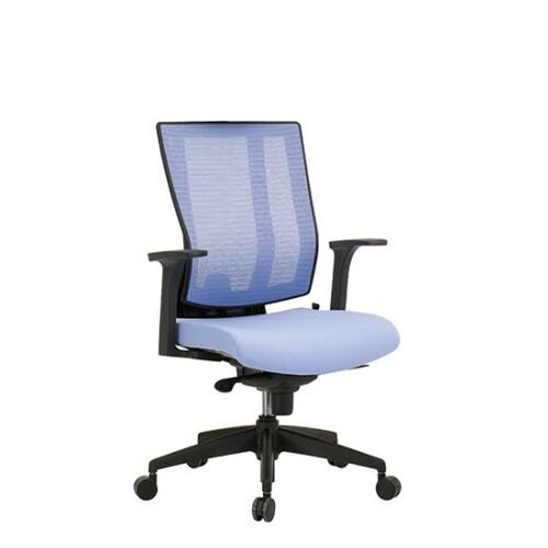 리바트  체어스 T555G 팔걸이 고정 의자 TOH55530M_이미지