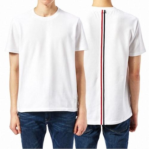 톰브라운 스트라이프 반팔 티셔츠 MJS056A 00050 100_이미지