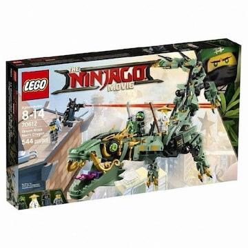 레고 닌자고 무비 그린 닌자 로봇 드래곤 (70612)
