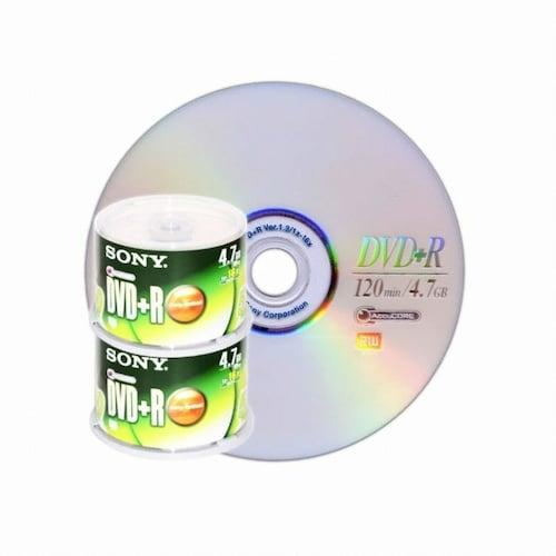 SONY DVD+R 4.7GB 16x 케익 100장 (50*2)_이미지