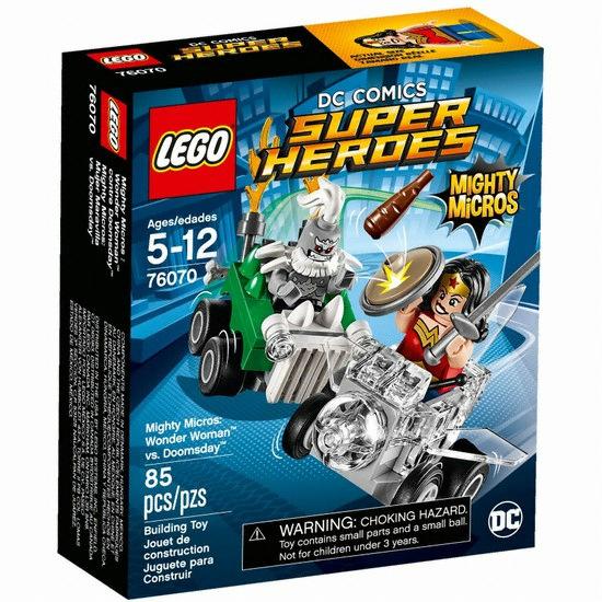 레고 DC 슈퍼히어로 마이티 마이크로 원더우먼 VS 둠스데이 (76070)(해외구매)