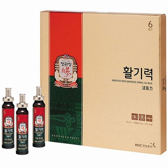 한국인삼공사 정관장 활기력 20ml 16병(1개)