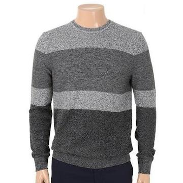 올젠 변형 라운드넥 스웨터