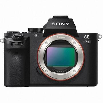 SONY 알파 A7 II(렌즈미포함)