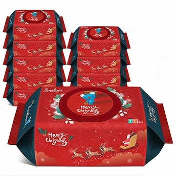 페넬로페  크리스마스 에디션 캡형 72매 (20팩, 1440매)