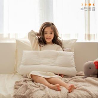 수면공감 키즈 우유베개 (1개, 55x27cm)_이미지