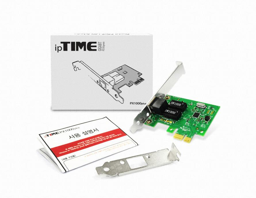 EFM ipTIME PX1000 plus PCI-E 기가비트 랜카드