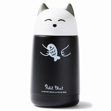 아트박스 고양이 보온병 (블랙)_이미지