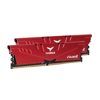 TeamGroup T-Force DDR4-3600 CL18 Vulcan Z Red 패키지 (16GB(8Gx2))_이미지