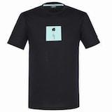 라푸마  라운드넥 프린트 티셔츠 (LMTS7B077BK, 블랙)_이미지