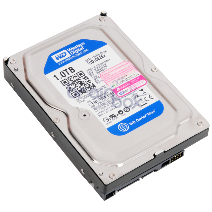Western Digital WD Caviar Blue 7200/64M/리퍼비시(WD10EZEX, 1TB)