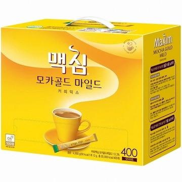 동서식품 맥심 모카골드 마일드 커피믹스 스틱 400T(1개)