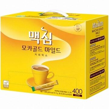 동서식품 맥심 모카골드 마일드 커피믹스 스틱 400T