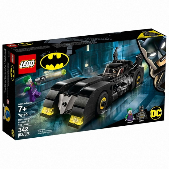 레고 DC 슈퍼히어로 배트맨 배트모빌: 조커의 추격 (76119) (정품)