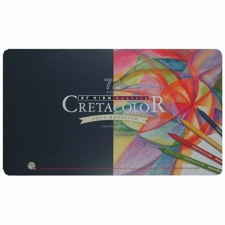 크레타칼라 통심 수채 색연필 (72색)