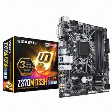 GIGABYTE Z370M DS3H 듀러블에디션 제이씨현