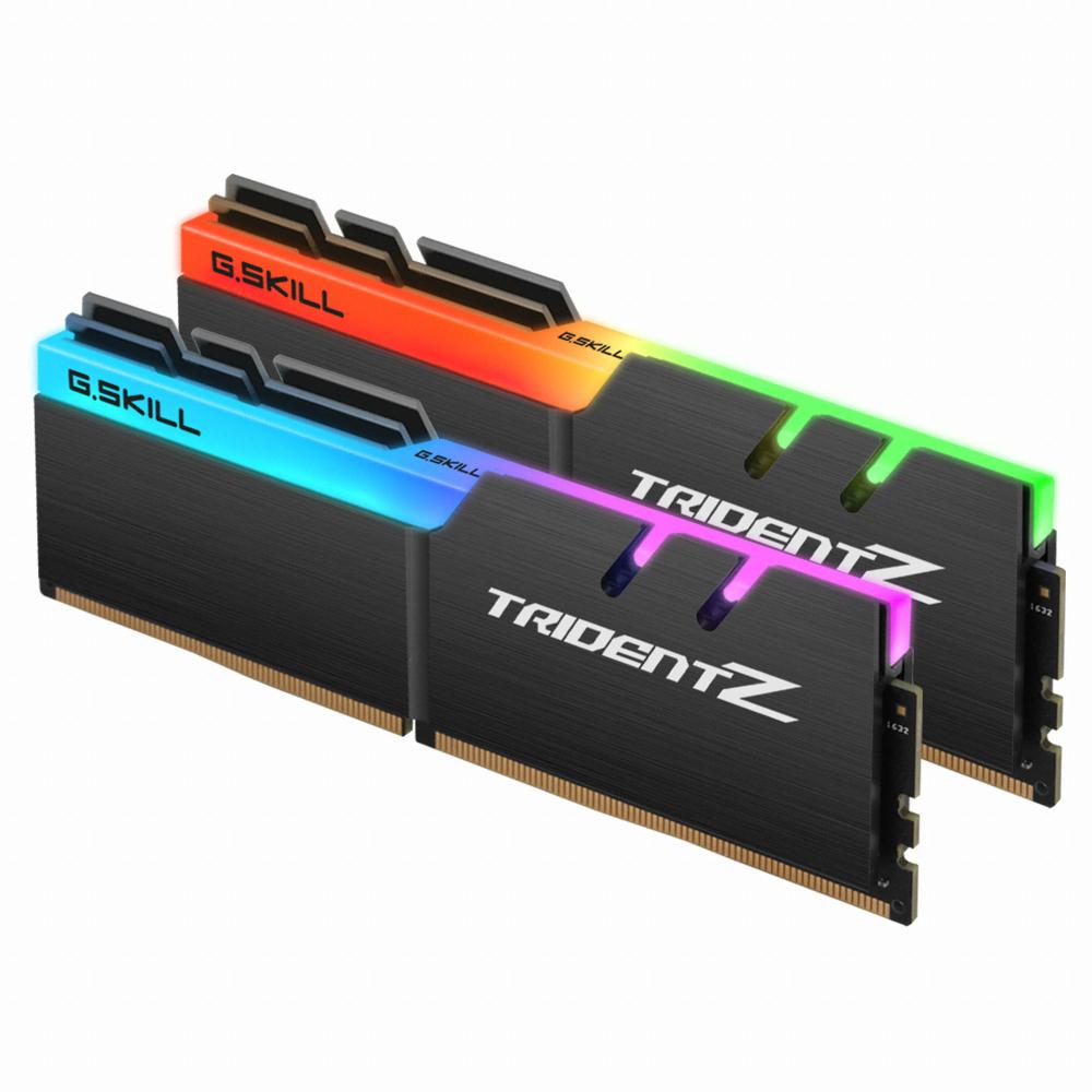 G.SKILL DDR4 16G PC4-30900 CL18 TRIDENT Z RGB (8Gx2)