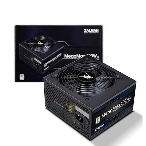 잘만 MegaMax 600W 80PLUS STANDARD