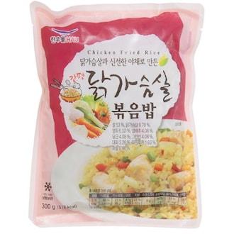 한우물(HAU) 닭가슴살 볶음밥 300g (1개)_이미지