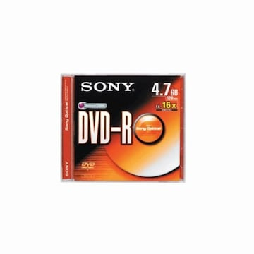 SONY DVD-R 4.7GB 16x 쥬얼 1장_이미지