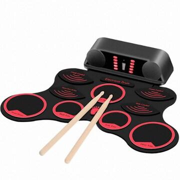 Inno 휴대용 실리콘 롤업 USB 전자드럼 G765(해외구매)