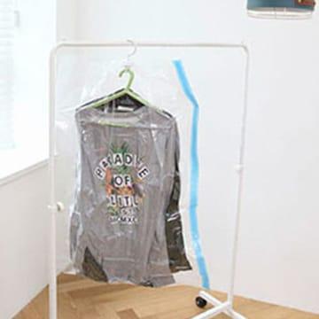 가쯔  스마트 밸브형 옷걸이 압축팩 양복 (4개)