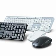 삼성물산 PLEOMAX AVEC-WMK110 무선 키보드 마우스 세트 (블랙)