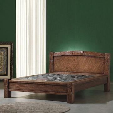 1601 다하스 침대 Q(홍칠보석)
