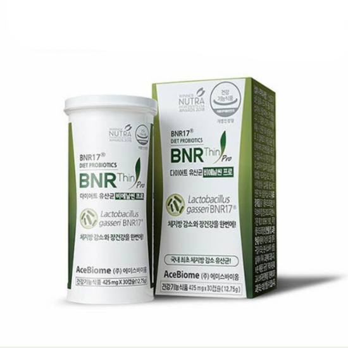 에이스바이옴 BNR17 다이어트 유산균 비에날씬 프로 30캡슐(1개)