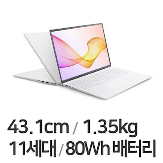 LG전자 2021 그램17 17Z90P-GA76K (SSD 512GB)_이미지