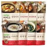CJ제일제당 비비고 국 탕 찌개 혼합세트 8종 (1개)