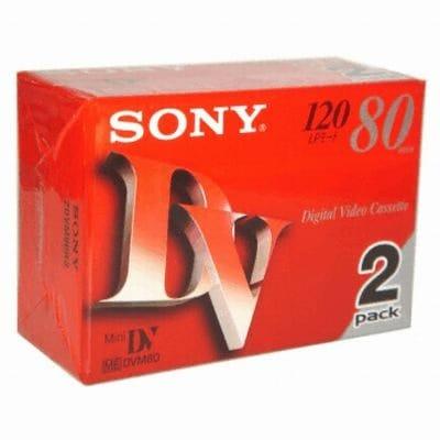 SONY MiniDV 6mm DVM80R3 80분 DV테이프 (100개)_이미지
