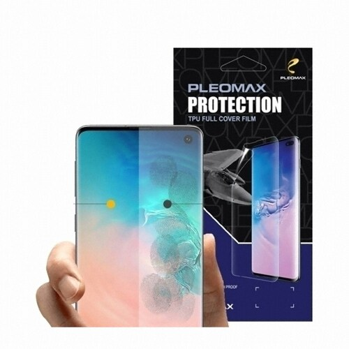 PLEOMAX 아이폰11 프로 맥스 TPU 풀커버 보호필름 (액정 5매)_이미지