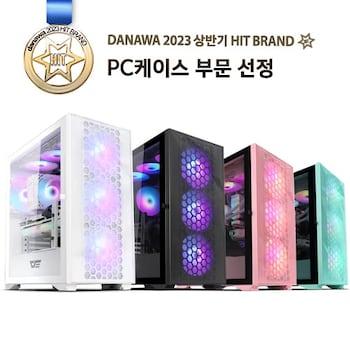 darkFlash DLX21 RGB MESH 강화유리 (화이트)