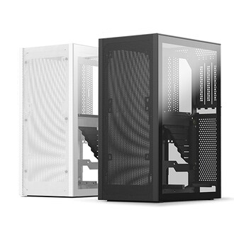 SSUPD MESHLICIOUS 강화유리 with PCIe3.0 (White)_이미지