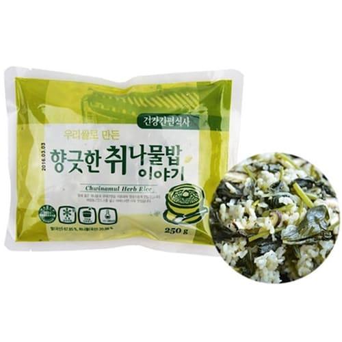 한우물(HAU) 향긋한 취나물밥 이야기 250g (8개)_이미지