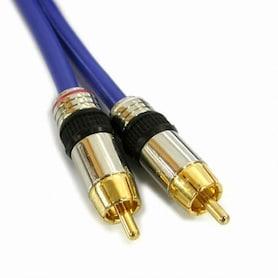 NETmate RCA2선 (고급) 오디오(2RCA) 케이블 (3.0m)