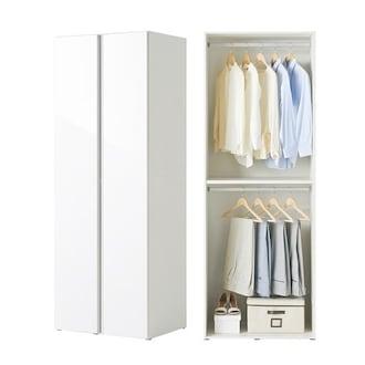 한샘 샘베딩 클로즈 행거형 A타입 옷장 80cm (높이 216cm)_이미지
