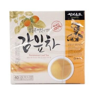 쌍계명차  김동곤 명인이 만든 감잎차 40T (1개)