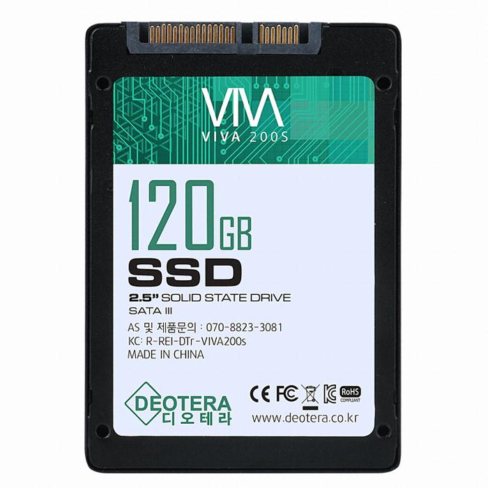 디오테라 VIVA 200S 벌크 (120GB)