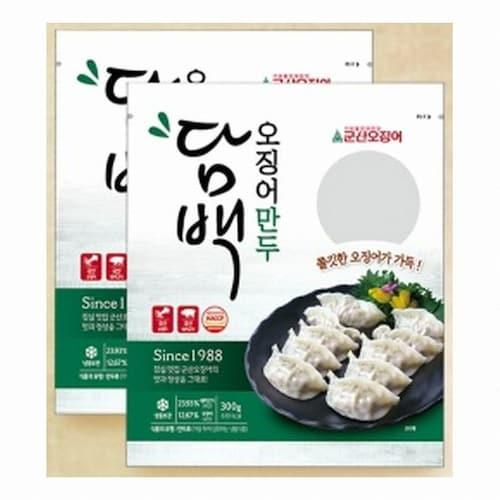엄지식품  담백 오징어 만두 300g (1개)_이미지