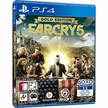 UBIsoft 파 크라이 5 (Far Cry 5) PS4(한글판,골드에디션)