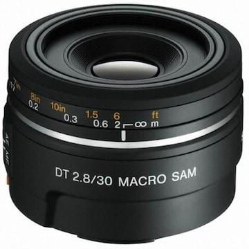 SONY 알파 DT 30mm F2.8 MACRO SAM