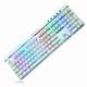 몬스타 데빌스킬 MK108RGB 화이트 게이밍 기계식키보드 (화이트, 적축)_이미지