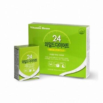 비타민하우스 24 와일드 다이어트 60정(1개)